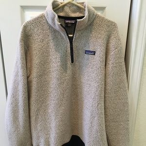 Men's Patagonia Woolyester Zip Pullover Sz L